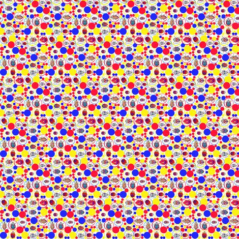 Polka Dot Beetles fabric by robin_rice on Spoonflower - custom fabric