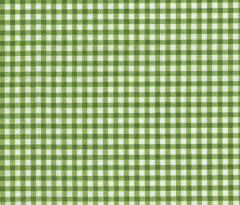 COUNTRY GREEN GINGHAM fabric by bluevelvet on Spoonflower - custom fabric