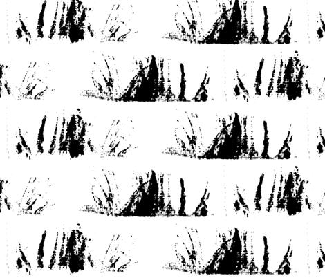 Eyelashes II. fabric by pond_ripple on Spoonflower - custom fabric
