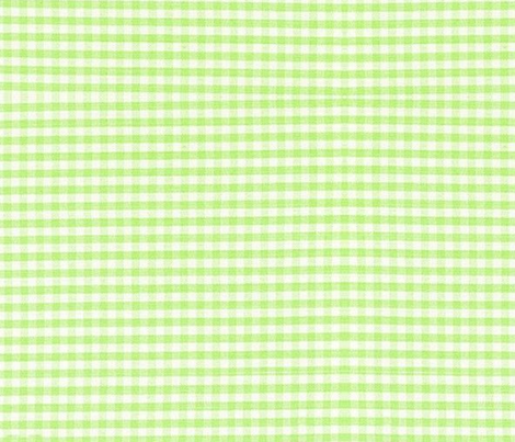 SOUR APPLE GINGHAM fabric by bluevelvet on Spoonflower - custom fabric