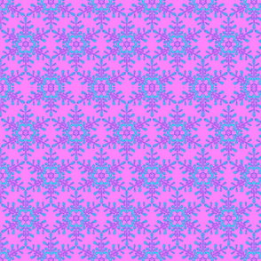 Liz_s_snowflake_print_blue_on_pink
