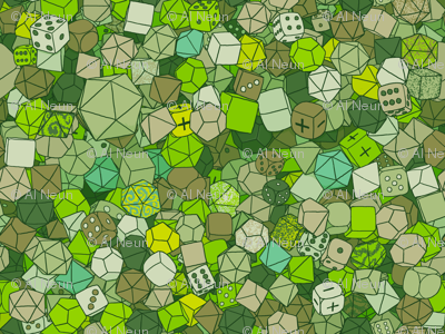 Dice Galore - Forest