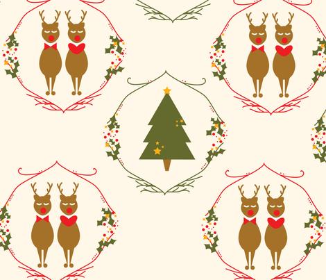 christmas-01 fabric by azaliamusa on Spoonflower - custom fabric