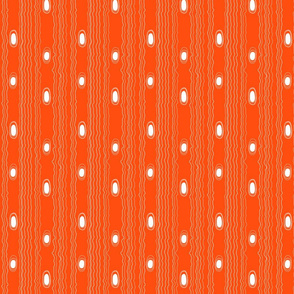 Modern Woodgrain Orange