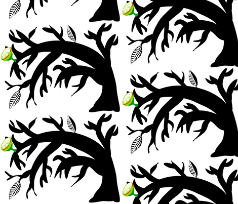 Bent_Tree fabric by kcs on Spoonflower - custom fabric