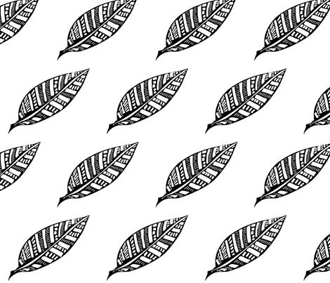 Leaf_Geometry fabric by kcs on Spoonflower - custom fabric