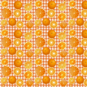 ORANGE GROVE GINGHAM SLICES
