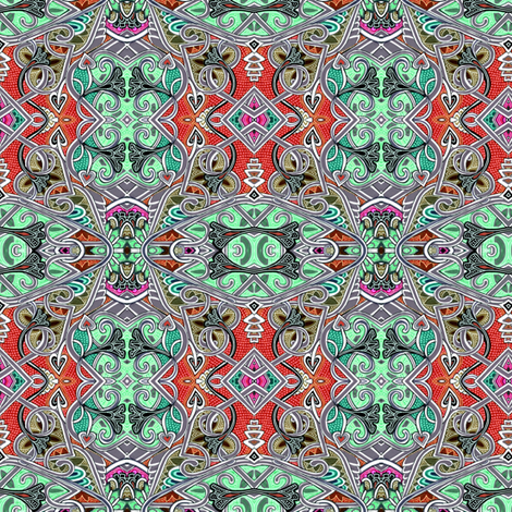 Under the Gypsy's Spell fabric by edsel2084 on Spoonflower - custom fabric