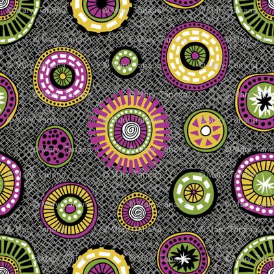 Tribal Aura-Buttons-Texture