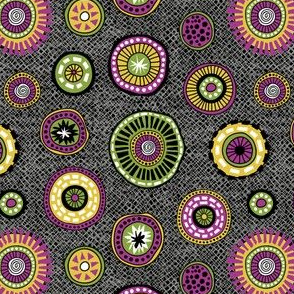 Tribal Aura-Buttons-Texture