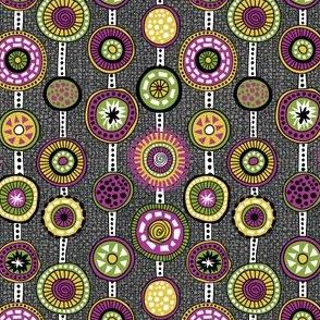Tribal Aura-Strands-Texture