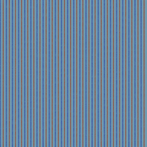 Spinning Wheels - Rust and Blue Stripe
