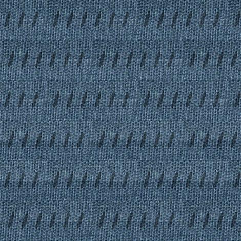 Blue burlap -  deep slate blue and black-ed-ed fabric by materialsgirl on Spoonflower - custom fabric