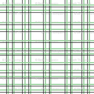Lalalalamb Green Plaid