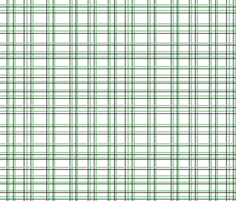 Lalalalamb Green Plaid fabric by beththompsonart on Spoonflower - custom fabric