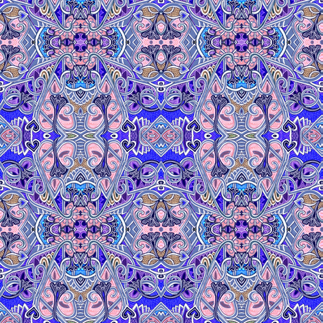 Periwinkle Points fabric by edsel2084 on Spoonflower - custom fabric
