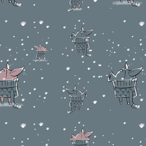 I'm Dreaming of a Snowy Piglet