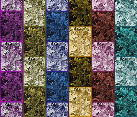 campanula panels fabric by y-knot_designs on Spoonflower - custom fabric