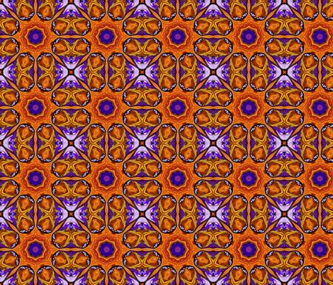 Jeweled_Medallions_B_small fabric by needlesongs on Spoonflower - custom fabric