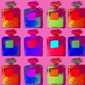 large pop art perfume bottles 2