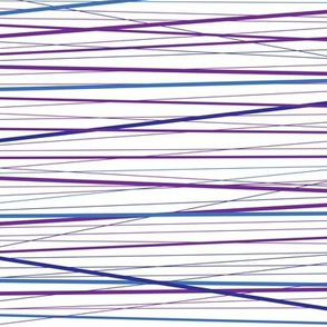 Purple String Stripy Pattern