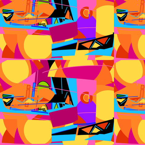 Vacation  fabric by kcs on Spoonflower - custom fabric