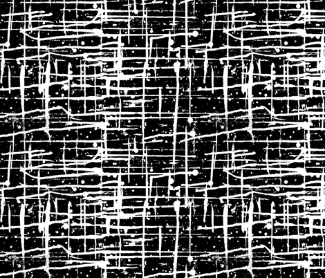 Ink Splatter II. White and Black fabric by pond_ripple on Spoonflower - custom fabric