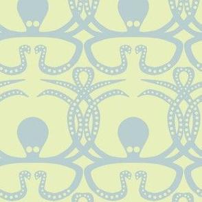 China blue octopus