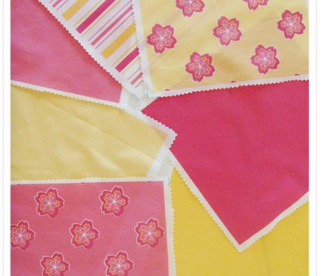 Sakura Plain Pale Yellow
