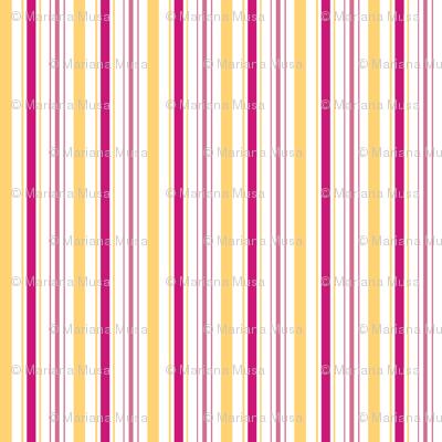 Sakura Batik Stripes