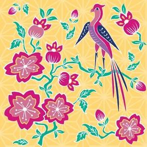 Sakura Floral Batik