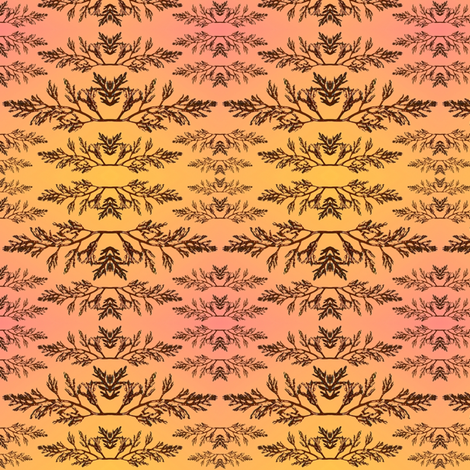 seaweed fronds fabric by y-knot_designs on Spoonflower - custom fabric