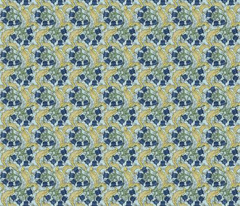Bluebells fabric by flyingfish on Spoonflower - custom fabric
