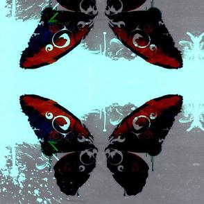 ink blot butterfly