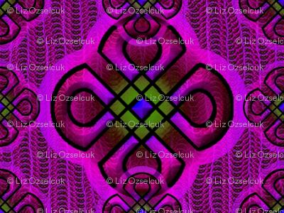 rangoli2 purple