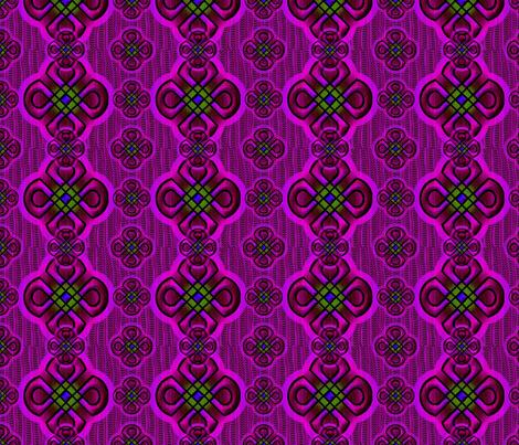 rangoli2 purple fabric by y-knot_designs on Spoonflower - custom fabric