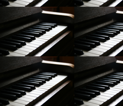piano fabric by crafts51432 on Spoonflower - custom fabric
