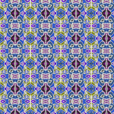 The Jagged Paths of Fifties Jazz Dadio fabric by edsel2084 on Spoonflower - custom fabric
