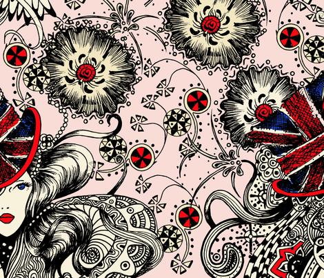 British_hat fabric by jijisun on Spoonflower - custom fabric