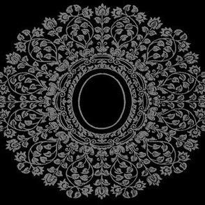 Ornate Lace Cameo