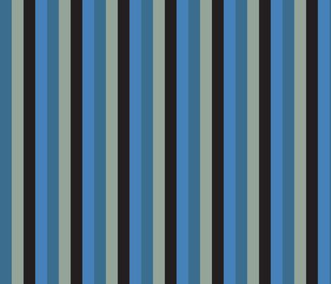 Blue Snake Bold fabric by mariafaithgarcia on Spoonflower - custom fabric