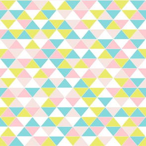 Triangles Pastel