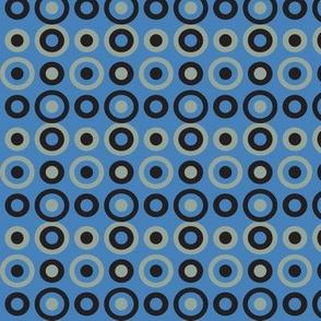 blue snake circles varied