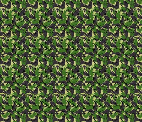 Sixth Scale British DPM Temperate Camo fabric by ricraynor on Spoonflower - custom fabric