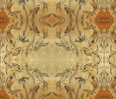 Fishy  fabric by daryl_stoll on Spoonflower - custom fabric