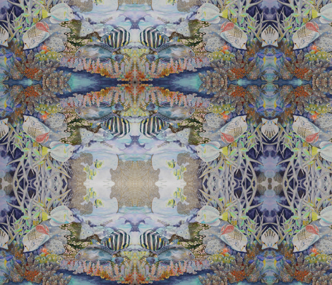 Coral Reef 2. fabric by magicalumbrella on Spoonflower - custom fabric