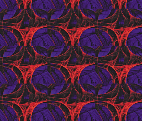 Cosmic Web 12 fabric by animotaxis on Spoonflower - custom fabric
