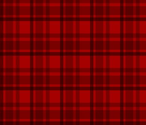 6th Dr Colin Baker Tartan fabric by warmcanofcoke on Spoonflower - custom fabric