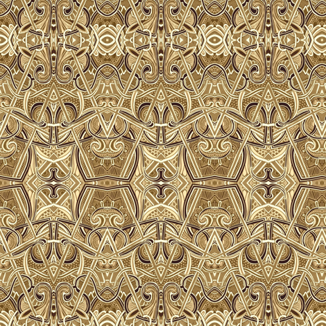 On the Bridle Path fabric by edsel2084 on Spoonflower - custom fabric