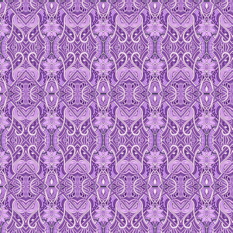Only Lavender Will Do fabric by edsel2084 on Spoonflower - custom fabric